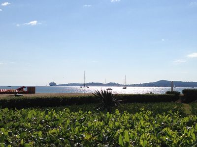 Photo for Apartment 6 people in the water Port Grimaud (Gulf of St Tropez)