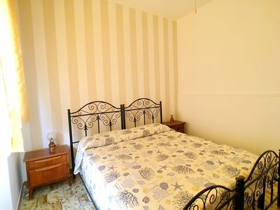 Photo for Apartment located in Torre Mozza, facing the sea on the first floor.