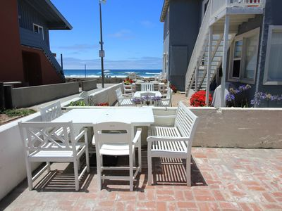 Photo for Ocean View Beach Cottage, Steps To Ocean - 4BR, 2BA- Sleeps 8