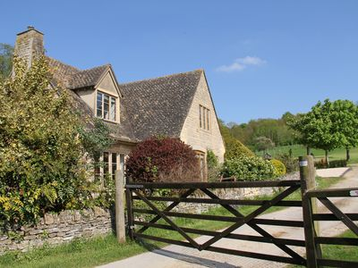 Photo for Cotswold Cottage in historic village of Stanton with views over open fields