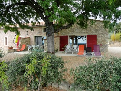 Photo for Gite in Cucuron in the countryside, at the foot of the Luberon with swimming pool