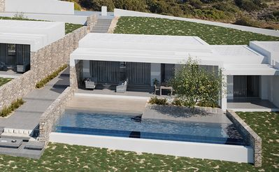 Photo for Hidden Hill South Villa in Naxos with pool
