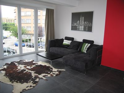 Photo for Studio 45 m2 Brussels / Woluwe 2 minutes walk from the metro!