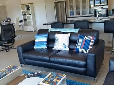 Photo for Modern Beach House with Sea Views - Hospital Grade Cleaners Used