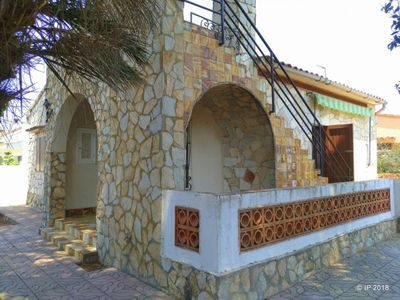 Photo for Villa Rose: House less than 500m from the beach, TERRACE AND BARBECUE, 3 bedroom