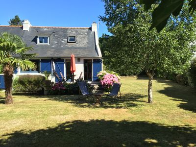 Photo for Old Fisherman's cottage with beautiful garden 150 m from the beaches of Concarneau