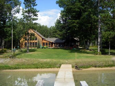 View of Walled Lake Lodge from the lake