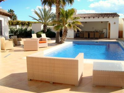 Photo for Casa Tasama - A great family villa with privacy and a large pool
