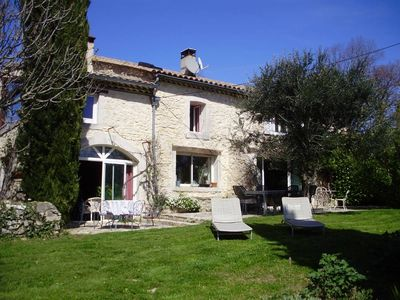 Photo for Stone house with pool in Drôme provenc, ideal for family holidays