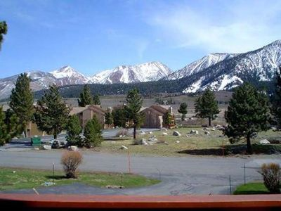 Photo for Nice, Pet Friendly Condo, with Views of the Sherwin - Near Snowcreek Golf Course