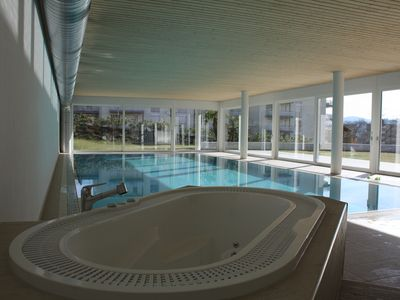 Photo for Indoor Swimming Pool, Sauna, Fitness, Private Gardens, Spacious Modern Apartment