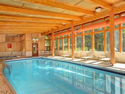 Photo for Modern Premier Condo with Fireplace | Pool + Hot Tub Access in a Great Location!