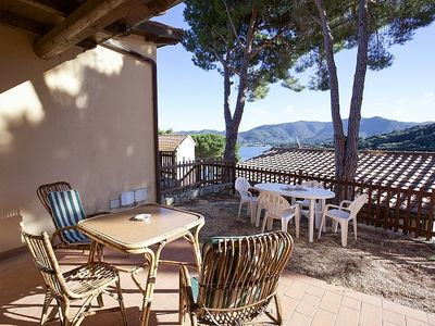 Photo for Two- room apartment with outside space and sea view in Elba Island