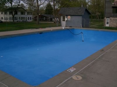 the Pool!!  Another wet option!!  New Heat, new pump -- ready as option #2!