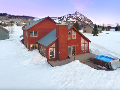 Photo for Fantastic Mountain Home Steps from Free Shuttle/Incredible Views/ Great Hot Tub!