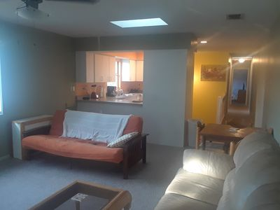Photo for Quiet 2 bed 2 bath 2 story duplex on siesta key by south bridge