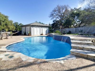 Photo for Family Vacation Home w/ POOL/Cabana/Bar JUST 7 MILES to SeaWorld/Six Flags/Shops