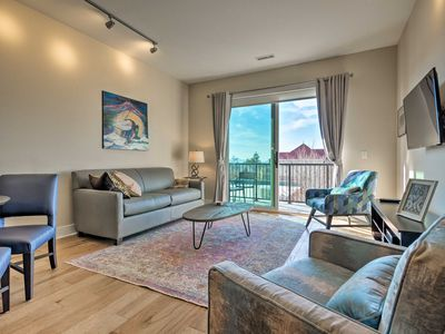 Photo for NEW! Downtown Asheville Condo w/Balcony & Mtn View