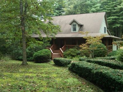 Photo for Peaceful Country Charm with Hot Tub Close to Asheville