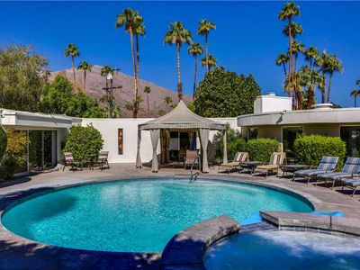 Photo for Palm Springs luxury vacation home with private pool.