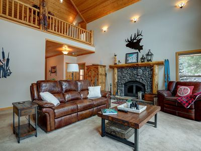Photo for Riverfront Luxury Lodge on Big Deschutes - 6 miles to Sunriver - Hot Tub, Game Room, Fire Pit