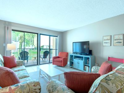 Photo for ☼Steps 2 the Beach @ Sugar Beach C-2-2BR☼ ClubHouse- OPEN Apr 14 to 16 $501!