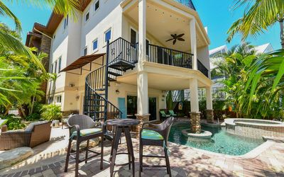 Photo for Luxury Siesta Key Dream Home surrounded by scenic water views and blue skies!