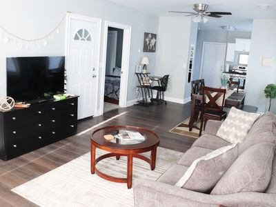 Photo for Modern & Bright 6+ Guest Elmwood Village Apartment
