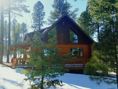 Photo for Amazing view Log Cabin