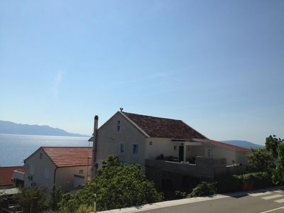 Photo for Two bedroom apartment with terrace Brist (Makarska)