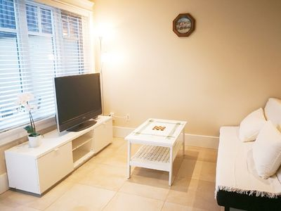 Photo for Separate entrance,  free parking, a queen bed + Futon for family & couples' home