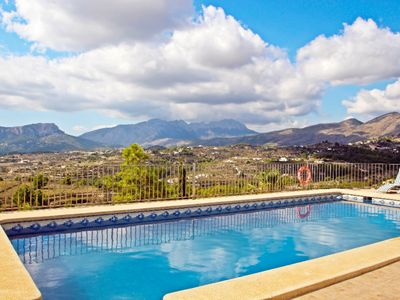 Photo for Finca Mayans - holiday home with stunning views and private pool in Benissa