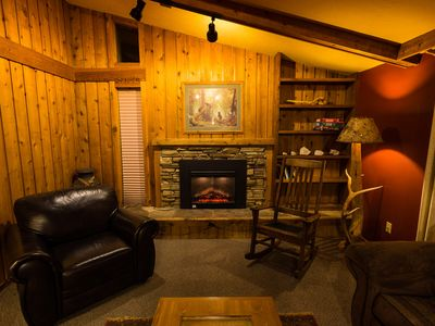 Photo for Roomy Cabin In Town, Deck/Grill, Private Laundry, Walk to Shops, Blocks to YNP