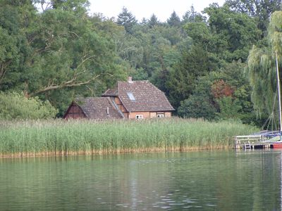 Photo for Holiday house at the lake Schaalsee on the Gutshof Groß Zecher