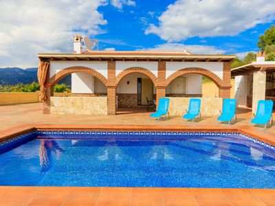 Photo for This 3-bedroom villa for up to 5 guests is located in Nerja and has a private swimming pool and Wi-F