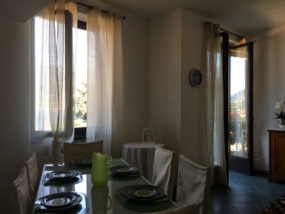Photo for Charming apartment overlooking Lake Iseo