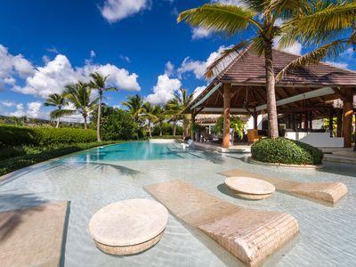 Photo for Caleton Estates 57 - LUXURY 4 Bedroom Ocean View Villa Cap Cana with pool & maid