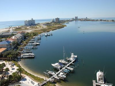 Photo for Water Front Condo with Breathtaking Views of Pensacola Beach! ~ Pool ~Private Ba