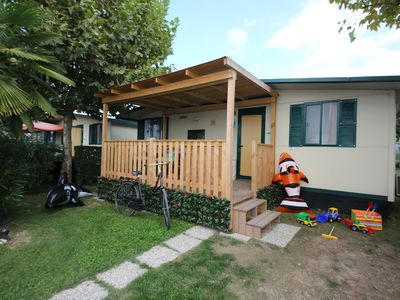 Photo for Mobilehome in the holiday complex Camping Butterfly ****