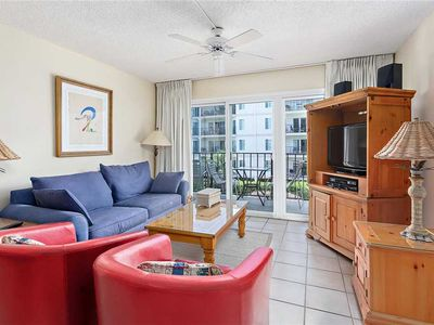 Family Fun on St Simons Island! Oceanfront Condominium with Pool, Beach Access, Tennis!