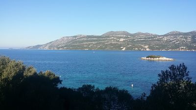 Photo for Lovely Apartment By The Clear Korčula Sea | S1