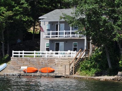 Photo for Waneta Lakeside North - Lakeview Cottage with  175' Private Lakefront Beach