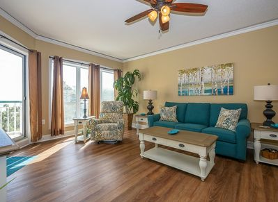 Living Room with Balcony Access at 3403 Windsor Court South