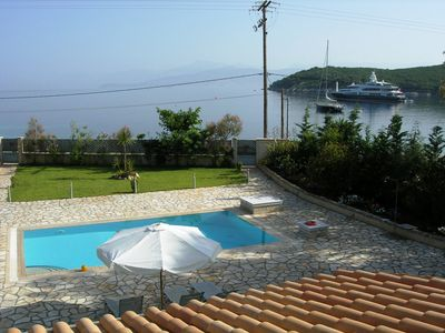 Photo for Lovely Beachfront Villa,superbly Located Steps Away From The Crystal Clear Sea.