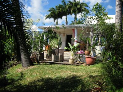 Photo for Beautiful Creole Villa Ocean View Exceptional-Jacousi Pool - West Island