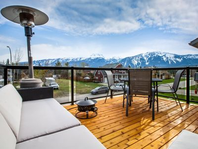 Photo for 2 bedrooms suite with south facing patio, amazing mountains view
