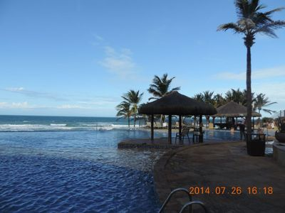 """Photo for GARDEN APARTMENT IN THE RESORT BEACH PARK - FURNISHED FOR 6 PEOPLE """"FOOT IN THE SAND"""""""
