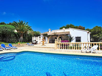 Photo for 3 bedroom Villa, sleeps 6 in Javea with Pool and WiFi
