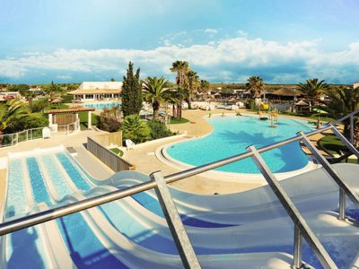 Photo for 3 bedroom Apartment, sleeps 7 in Portiragnes with Pool, Air Con and WiFi