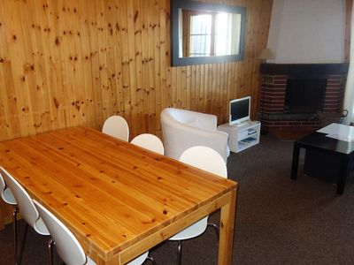 """Photo for 2* - 3-bedroom-room-apartment for 6-8 people located closed to the departure of the """"l'Ours"""" lift. B"""